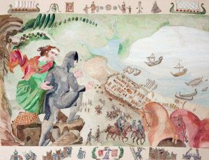 Ros Tapestry Panels - The Siege of Wexford
