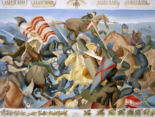 Ros Tapestry Panels - Battles in the Kingdom of Ossory